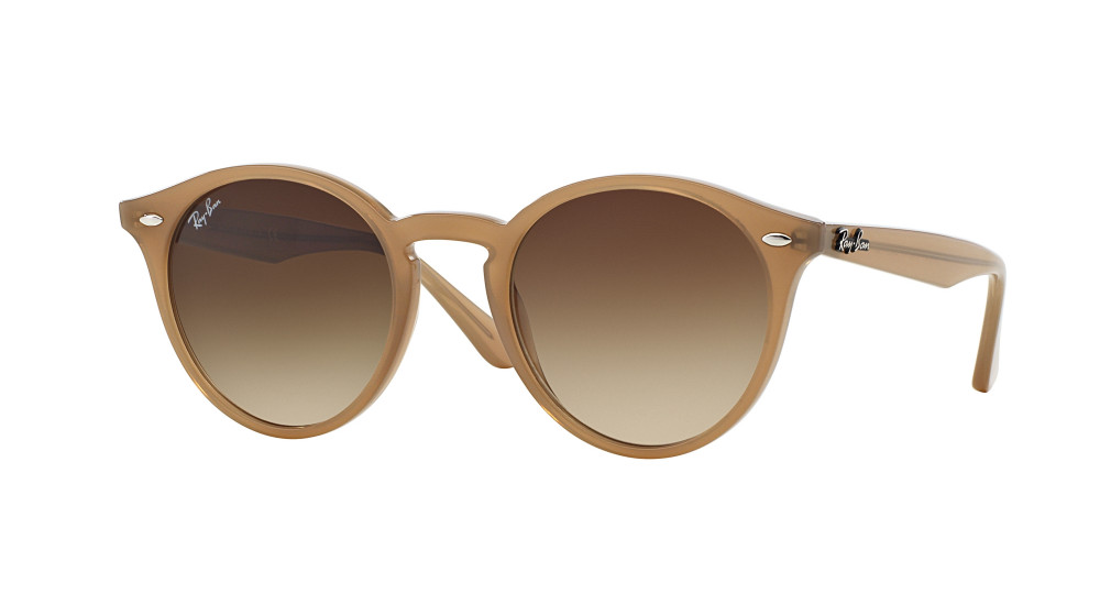 5be00f20bcdee Ray-Ban RB 2180 616613 49mm 49 Beige y Marrones Redondas