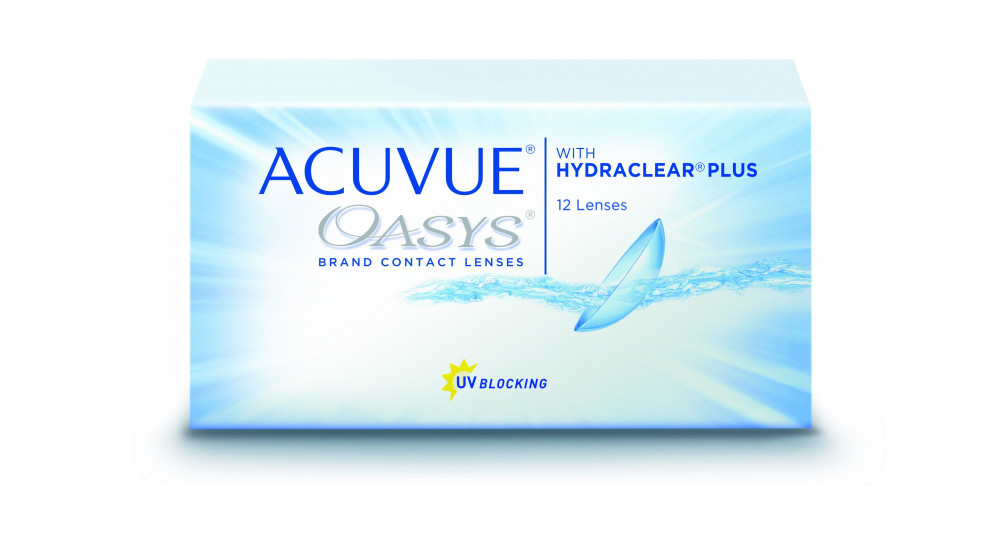 ACUVUE OASYS · HYDRACLEAR PLUS · 12 UN