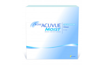 Caja de lentillas 1-DAY ACUVUE MOIST FOR ASTIGMATISM 90 UNIDADES