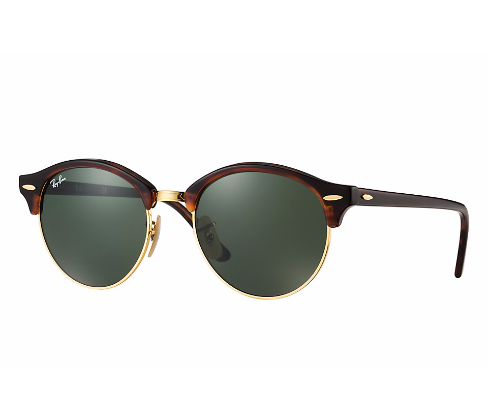 d40352a439345 Ray-Ban Clubround RB 4246 990 Cristales Verdes - Gafas Ray-Ban
