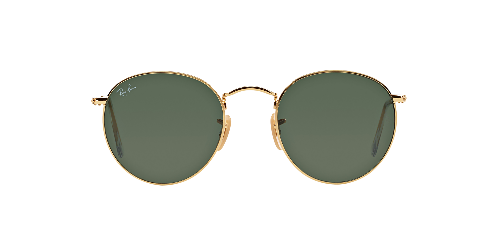360° Product View 360° Product View  Gafas de sol Ray-Ban ROUND METAL  RB3447 001-50 VERDE CLÁSICA G-  Gafas ... 74eac3e6dd